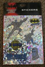 Batman & Robin DC COMICS Rare Stickers From 1997 [12 sheets] Mint New in Plastic
