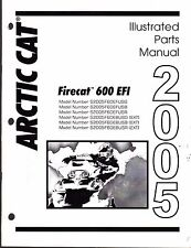 2005 ARCTIC CAT SNOWMOBILE FIRECAT 600 EFI PARTS MANUAL P/N 2257-125  (475)