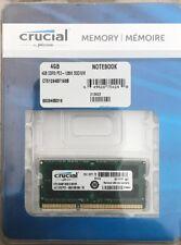 Crucial 4GB of Memory
