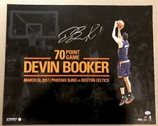 547929431f62 Devin Booker Signed 70 Point Game 16x20 Autographed Photo LE  70 (STEINER  COA)