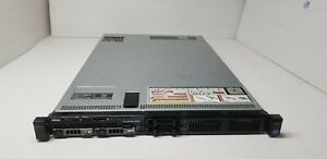Dell Poweredge R620 server 2x 4-Core 2.4GHz E5-2609,2x 600GB SAS 10K, 32GB RAM