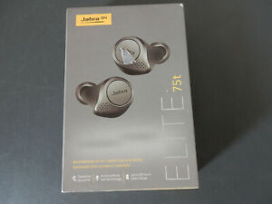 Jabra Elite Active 75t True Wireless Headphones - Titanium (OPEN BOX) #F092