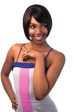 Sleek perruque cheveux synthétique Amma avec filet de protection pour GRATUIT