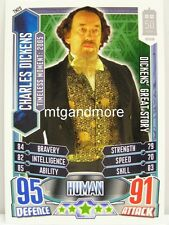 #TM20 Charles Dickens - Alien Attax Doctor Who - 50th Anni