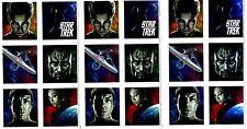 STAR TREK Movie Scrapbook Stickers 3 Sheets Hallmark Chris Pine Zachary Quinto