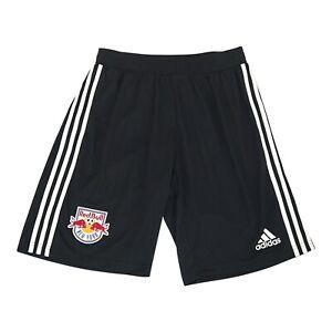 New York Red Bulls MLS Adidas Men's Black Team Crest Training Shorts