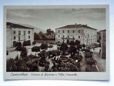 CASTROVILLARI palazzo di giustizia Villa comunale Cosenza vecchia cartolina