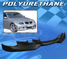 FOR BMW E90 3-SERIES 06-08 T-A STYLE FRONT BUMPER LIP BODY KIT POLYURETHANE PU