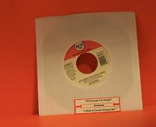 """ALABAMA - OF COURSE I'M ALRIGHT / I WISH IT COULD ALWAYS BE  - 7"""" SINGLE 45 X"""