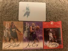 TRUE #1/1! Four Card Lot! Autograph! Printing Plate! Curry! Dragic! Ratliff!