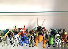 Ben 10 Figuras de Acción Juguetes 10cm Paquete, Ultimate Alien Force Omniverse Omnitrix