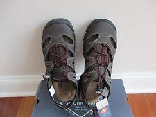 BNIB St. John's Bay SJB Cast CT Bun Mens Fisherman sandals, 9M, brown, $60