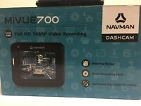 NAVMAN MiVUE 700 DASHCAM BRAND NEW FULL HD 1080P VIDEO RECORDING