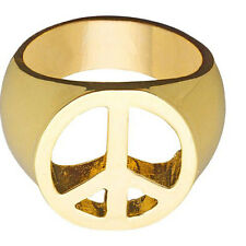 Love & peace or ring Neuf-Accessoires Accessoire Carnaval