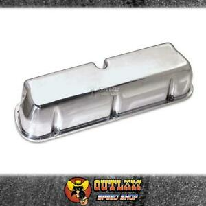 MOROSO VALVE COVERS CAST ALUMINIUM FITS FORD 289-351 WINDSOR TALL POLISHED