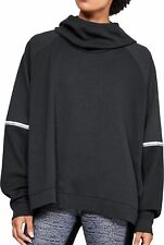 Under Armour Unstoppable Double Knit Oversized Womens Hoody - Black
