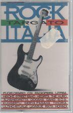 ROCK TARGATO ITALIA CSI LITFIBA LIGABUE NOMADI NEGRITA MC K7 MUSICASSETTA SIGIL.