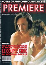 Premiere  N°161  Aout 1990:Anglade Marie trintignant Johnny depp Bruno cremer To