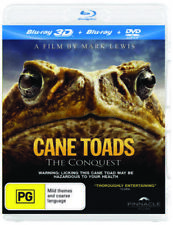 Blu-ray 3d DVD Cane Toads The Conquest Documentary 2 Disc BOXSET 99c