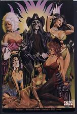 Bedlam #1 PREMIUM LIMITED CHAOS! Skeleton Bad-Girl Chastity GGA NM+ 9.6 Deluxe