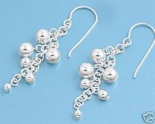 USA Seller Gipsy Hook Earrings Sterling Silver 925 Best Price Jewelry Gift