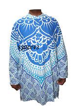 100% Cotton Man Shirt Indian Kurta Plus Size Lotus Mandala All Size Kurta