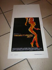 LOCANDINA JAMES BOND IL MONDO NON BASTA,AGENTE 007,Pierce Brosnan,S.Marceau,1999
