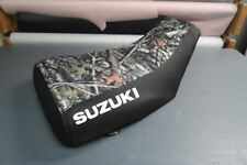Suzuki King Quad LTF250 1987-98 Camo Top Logo Seat Cover #nw2846mik2845