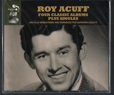 Roy Acuff Four Classic ALBUMS   Plus Singles 4CD Brand new Ships Free U S