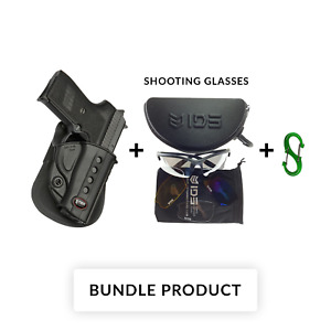 NEW SG-239 Fobus Right Hand Black Paddle Holster For Sig Sauer 239 9mm Polymer