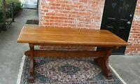 English Oak Farm Dining Table | Dining Room Furniture
