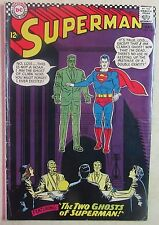 Dc Comics - Superman Issue #186 - Silver Age Comic Book-1960s - Nice Copy