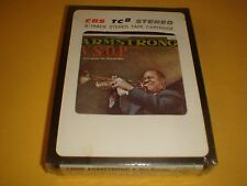 CARTOUCHE 8 TRACKS PISTES STEREO / LOUIS ARMSTRONG BALLROOM NEUF SEALED TC 8