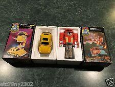 "Vintage Lot Of (2) 1984 TONKA SUPER GO BOTS ""STAKS"" & ""BUG BITE"" w/ BOXES - RARE"