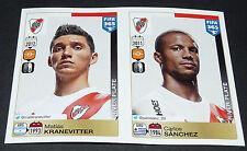 112 116 RIVER PLATE KRANEVITTER SANCHEZ ARGENTINA PANINI FOOTBALL FIFA 365 2015