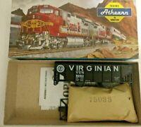 HO scale Athearn  Virginian  34' rib side hopper   VGN 9250