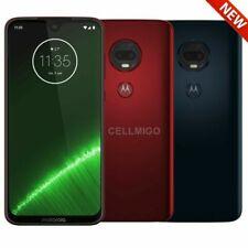 "Motorola Moto G7+ Plus (64GB, 4GB) 6.2"" Dual SIM 4G LTE GSM Unlocked XT1965-2"