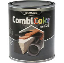 Rust-Oleum combicolor Multi-Surface Peinture Noir Mat 2.5L