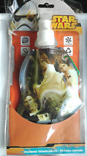 STAR WARS FOLDABLE CANTEEN BOTTLE(ATTACHABLE,FREEZABLE ,REUSABLE,& WASHABLE~ no4
