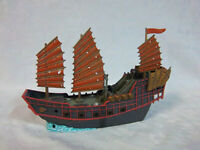 "Zizzle Pirates of the Caribbean Empress Ship Loose 2007 9"" Disney Boat"