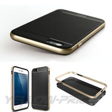 iPhone 6 Plus Case,[METALLIC BUTTONS]iPhone 5.5 Slim Fit Dual Layer Protective
