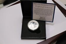 UK GB BUDICA ONE PURE SILVER OZ. IN BOX + COA B30 CG33