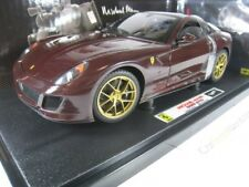 FERRARI 599 GTO MICHAEL MANN 1/18 HOTWHEELS ELITE (DARK RED)
