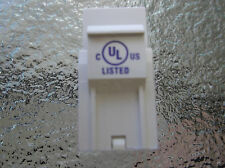 1 of The Best Ethernet Cat6 Jack White Available UL Listed Cat6 - 100 Pack
