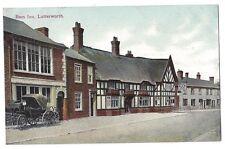 LUTTERWORTH Ram Inn, Old Postcard by Valentine Unused