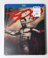 300 Steelbook Bluray DVD USA NEW SEALED Limited Edition Blu-Ray Gerard Butler