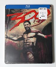 300 Steelbook Bluray DVD USA NEW SEALED Limited Edition Blu-Ray Gerard Butler