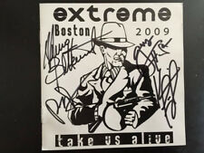 Extreme  take us alive cd 2009 House of Blues Boston signed cd booklet by band