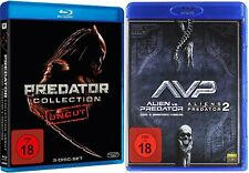Mega Collection predator parte 1 2 3 + Alien vs. 5 Blu-ray edition box nuevo