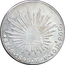 Mexico 8 Reales Mo 1846 M.F. Mexico Mint, Original luster. KM# 377.10